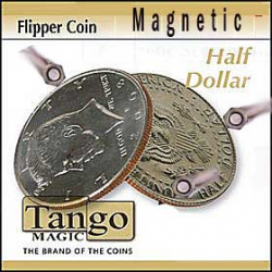 Flipper coin magnetique 1/2 Dollar ( tango )