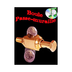 Boule Passe Muraille ( steel ball through bolt )