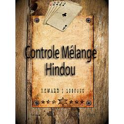 Controle au mélange hindou