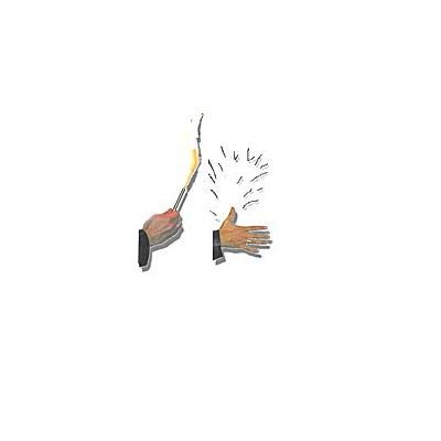 Vanishing Torch Hand